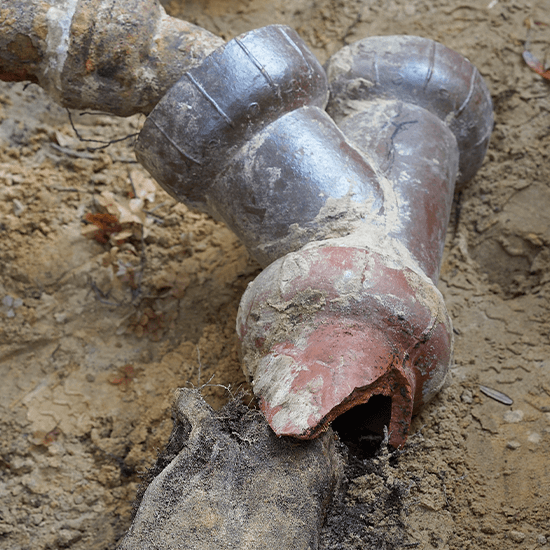 Drain Excavation and Replacement